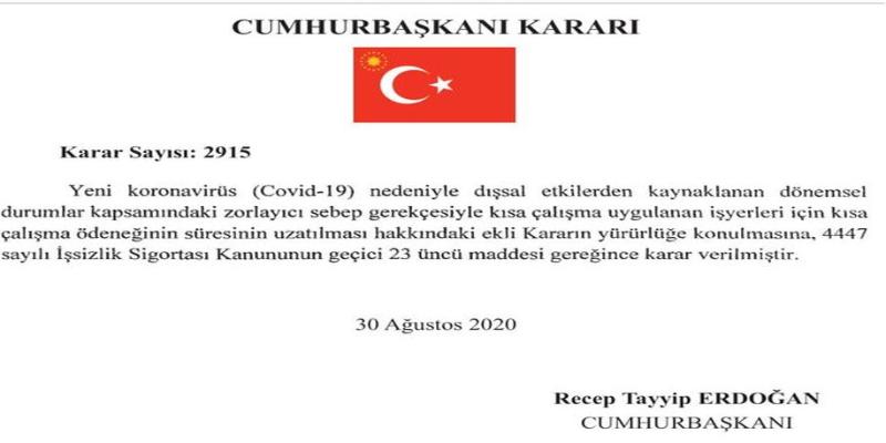 Kısa çalışma ödeneği 2 ay uzatıldı - Haberler - Turizm Gazetesi